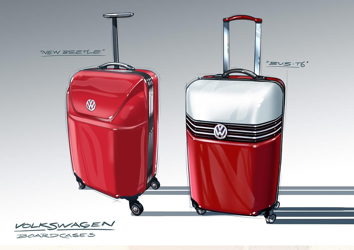 trommer volkswagen bolan trolley T6 beetle design