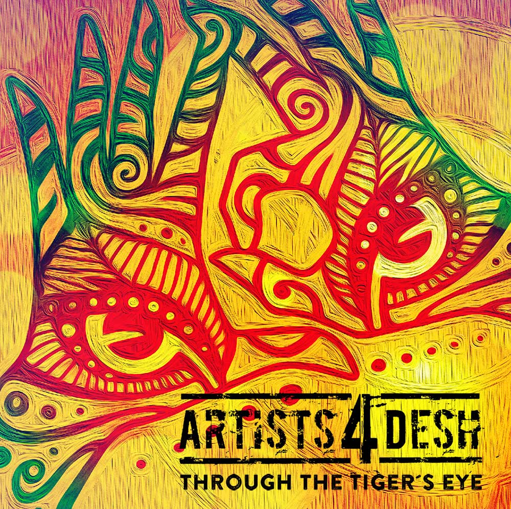 Artists 4 Desh Cover Design