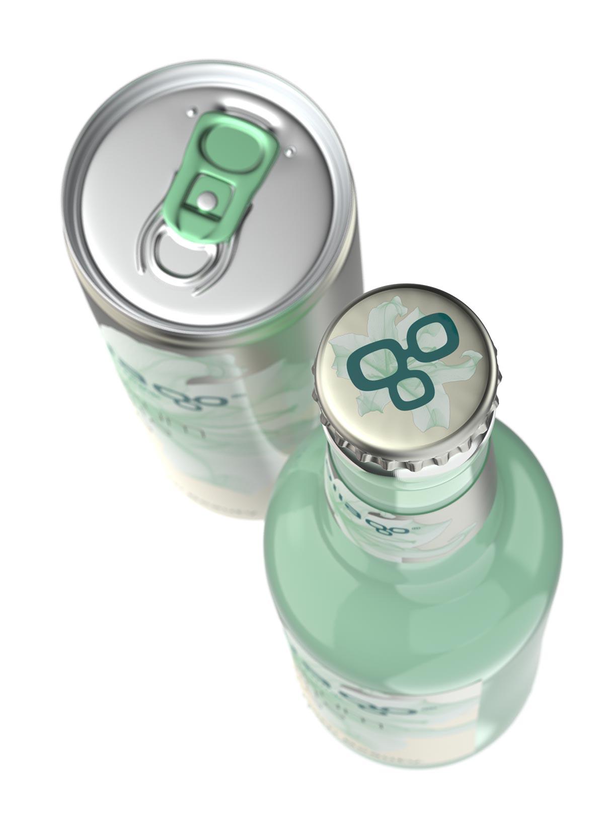 trommer kollago bottle cap design