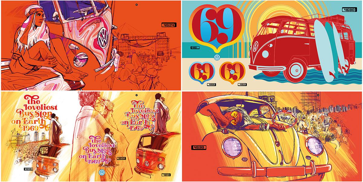 trommer volkswagen lookbook 4 illustration + design 1