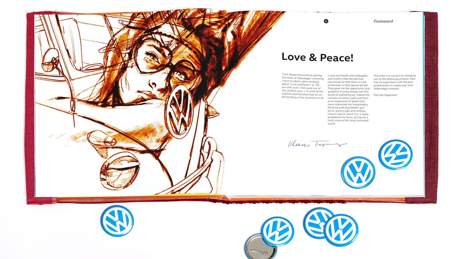trommer volkswagen lookbook 4 illustration + design 13