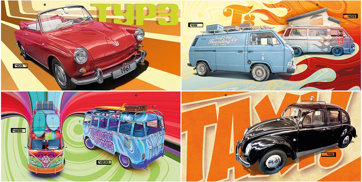 trommer volkswagen lookbook 4 illustration + design 3