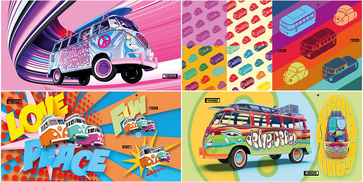 trommer volkswagen lookbook 4 illustration + design 6