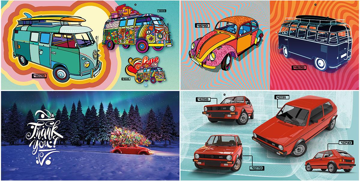 trommer volkswagen lookbook 4 illustration + design 7